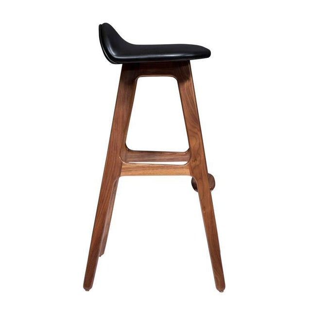 Mid-Century Modern Pair of Boyd Counter Stools For Sale - Image 3 of 8