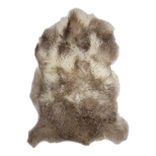 "Handmade Long Hair Sheepskin Pelt - 2'6"" x 3'5"""