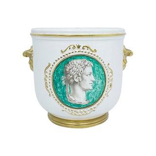 Mid-Century Italian Ugo Zachagnini Cachepot For Sale