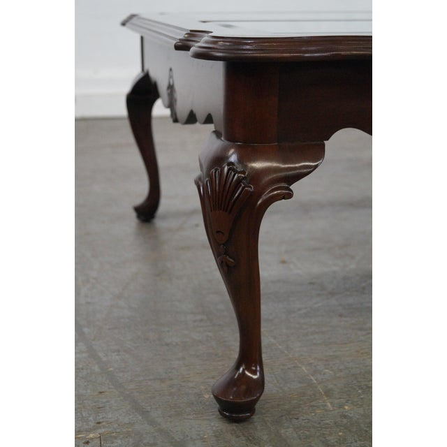 Ethan Allen Georgian Court Coffee Table For Sale - Image 5 of 10