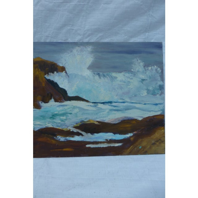 H.L. Musgrave Mid-Century Ocean Painting - Image 5 of 7