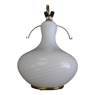Vetri Venetian Murano Glass Lamp Base # 048 For Sale