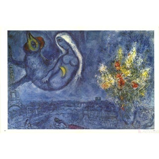 Marc Chagall Dlm No. 182 Pages 20,21-1969 Poster