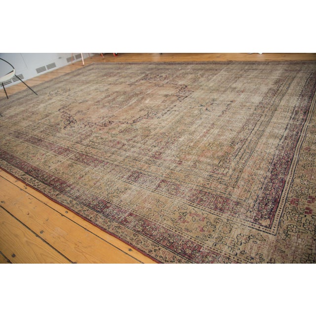 "Antique Persian Kerman Carpet - 9' X 13'1"" - Image 4 of 10"