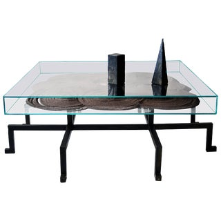 Sculpted Kinetic Magnetic Table N.5, JM Szymanski For Sale