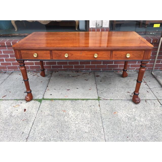 Brown Baker Furniture Company Desk For Sale - Image 8 of 8