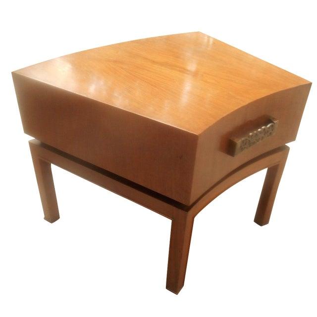 Mod Floating Butcher Block Table For Sale
