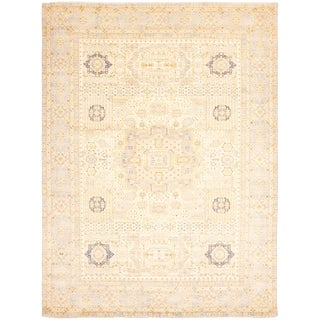 Hand-Knotted Rug- 9′4″ × 12′2″ For Sale