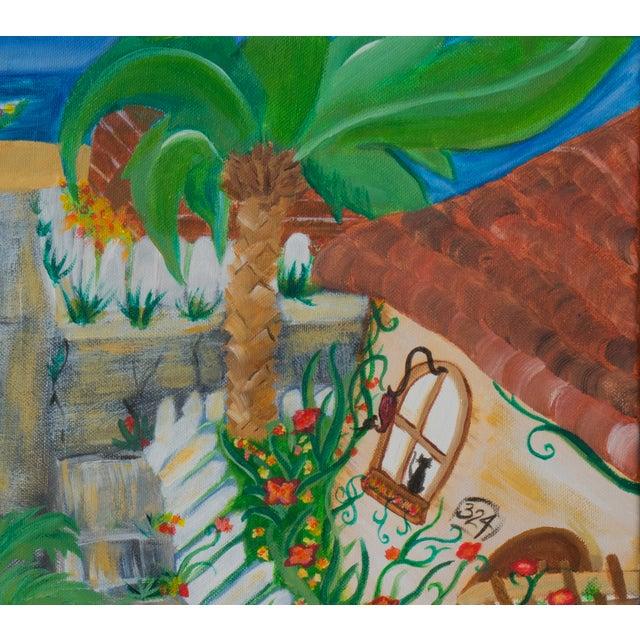 West Side of Santa Cruz Acrylic Painting - Image 3 of 5