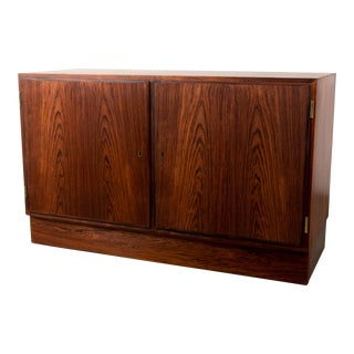 1950s Danish Rosewood Credenza by Arne Vodder For Sale