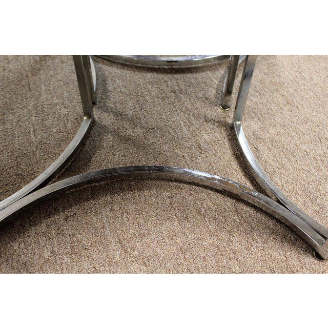 1970s Mid-Century Modern Daystrom Chrome Wood Laminate Dinette Set For Sale - Image 11 of 13