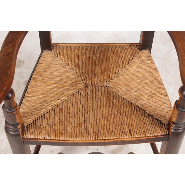 Antique Elizabethan-Style Spindle Chairs - A Pair - Image 8 of 11