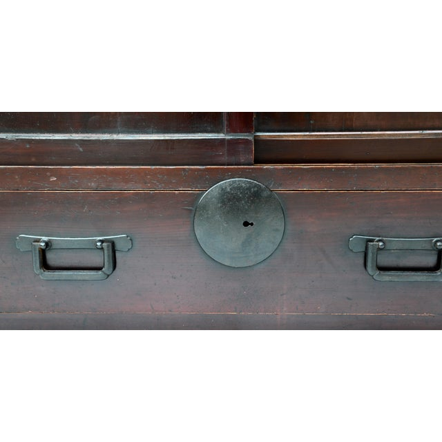 Early Meiji Period Japanese Choba Tansu For Sale In Los Angeles - Image 6 of 8