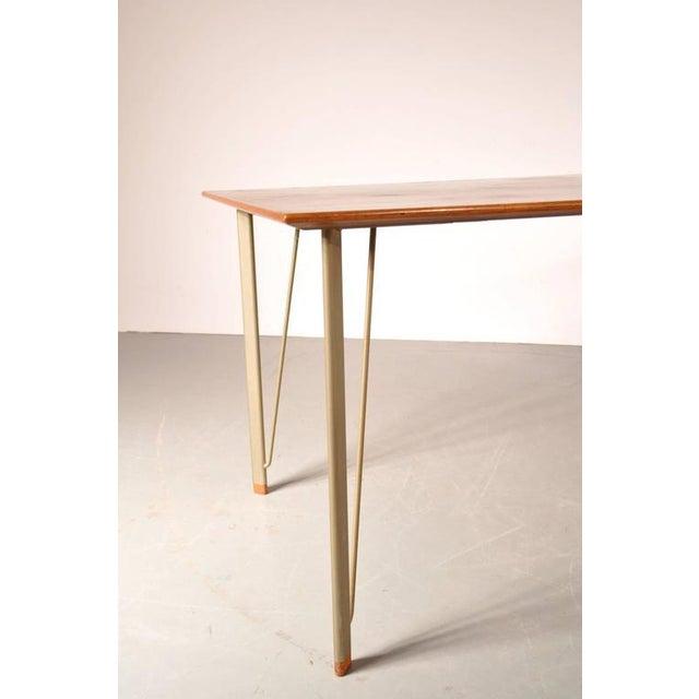 Dining Table by Arne Jacobsen for Fritz Hansen, Denmark, circa 1955 - Image 7 of 10