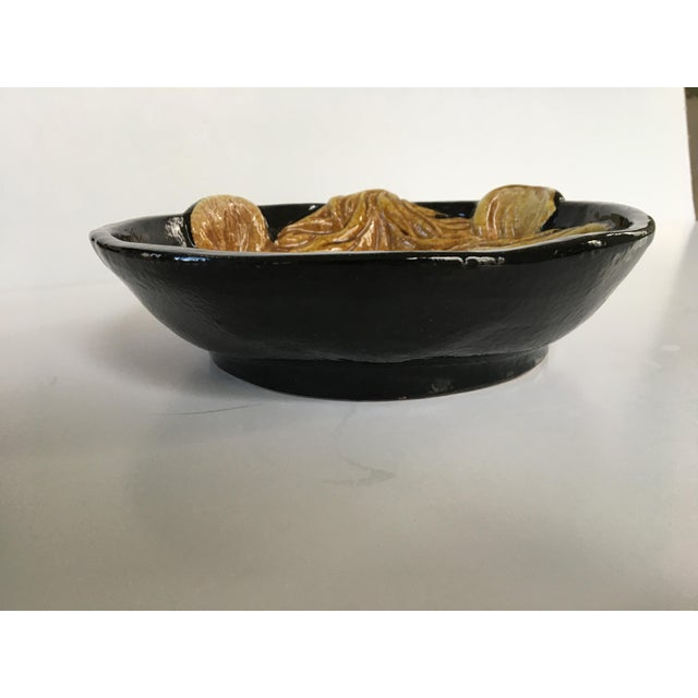 Mid 20th Century Mid-Century Italian Hollywood Regency Lion Decorative Bowl/Catchall For Sale - Image 5 of 11