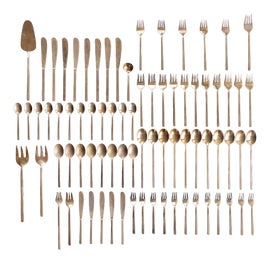 Image of Danish Modern Flatware and Silverware