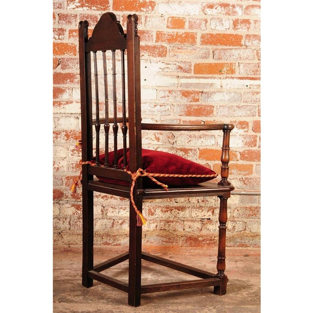 19th Century Reinassance Side Chairs - A Pair - Image 9 of 11