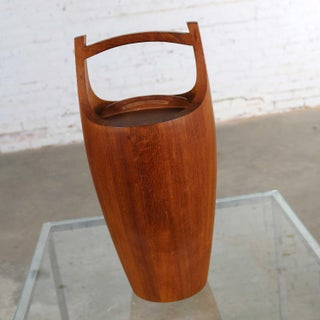 Monumental Dansk Staved Teak Bucket Style Ice Bucket by Jens Quistgaard Preview