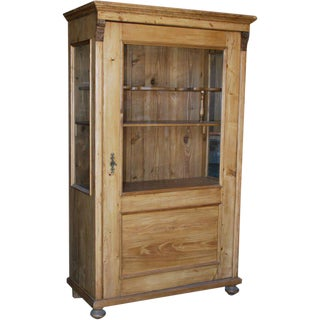 Antique Continental Cupboard For Sale