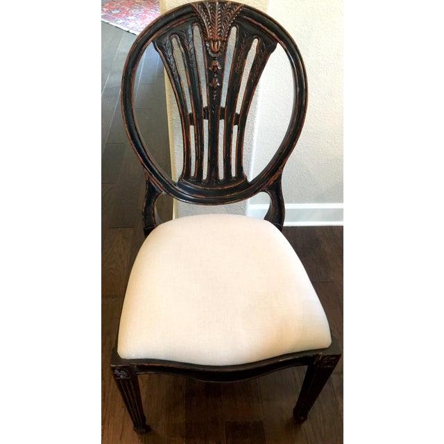 Jonathan Charles Hepplewhite Wheatsheaf Side Chair - Image 2 of 5