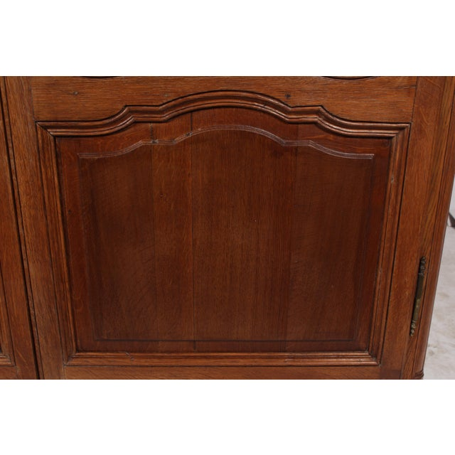 19th C. Louis XV Bookcase With Glass Doors - Image 5 of 9