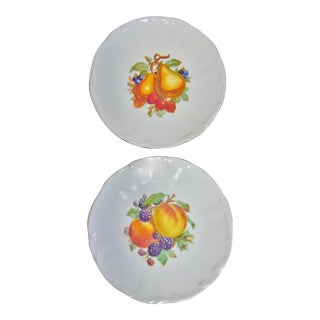 Bareuther Waldsassen Bavaria Germany Plates - A Pair For Sale