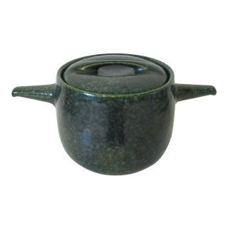Raymor / Roseville Large Bean Pot with Lid by Ben Seibel