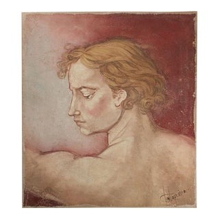 Portrait of a Renaissance Florentine youth found in Italy For Sale