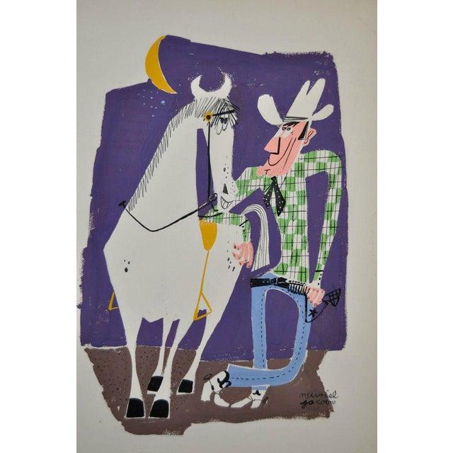 Muriel Jacobs Original Illustration c.1960 - Image 1 of 3