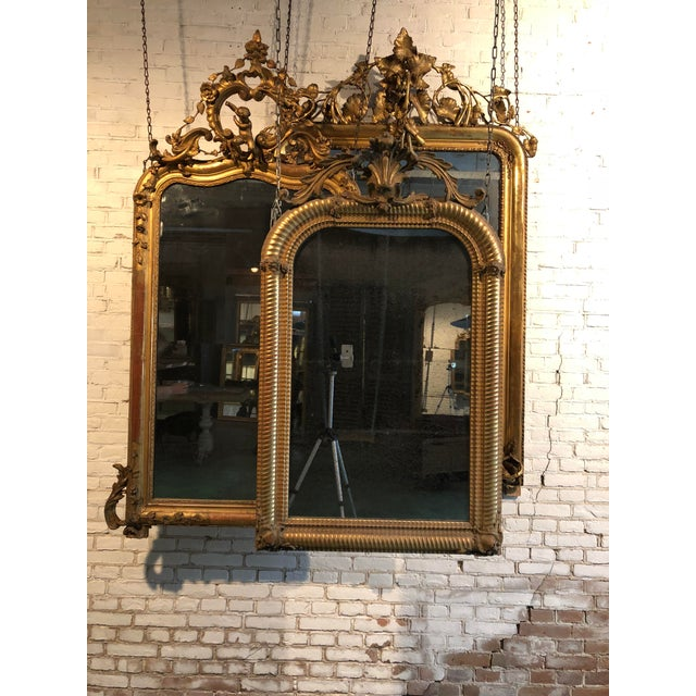 Gold Stunning Early 19th Century Mirror For Sale - Image 8 of 10