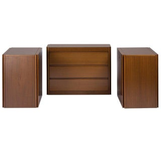 "Set of Three ""4D"" Storage System by Mangiarotti for Molteni For Sale"