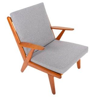 Poul Volther J53 Oak Lounge Chair