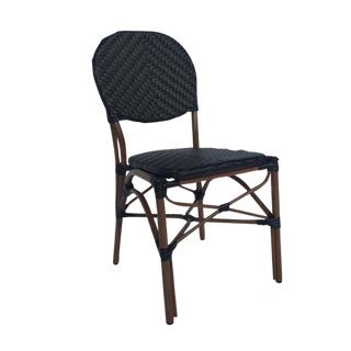 Black Color Café Bistro Chair