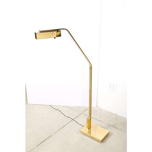 Casella Lighting Casella Cantilevered Flat Bar Pivot Reading Lamp For Sale - Image 4 of 8