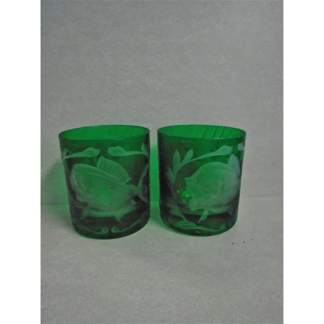 """Artel """"Jungle Baroque"""" Double Old Fashion Glasses - Set of 2 For Sale - Image 6 of 6"""