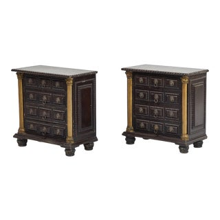 Early 20th Century Tabletop Chest of Drawers from Portugal For Sale
