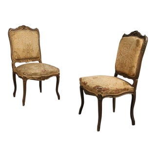 Pair of Rococo Chairs Early 19th Century For Sale