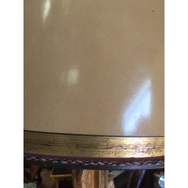 18th Century Carved Giltwood Candles Converted to Lamps - a Pair For Sale - Image 10 of 13