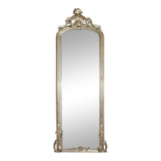 Mirror - Gilt Wood Pier Mirror For Sale