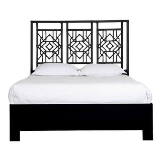 Tulum Bed Queen - Black For Sale