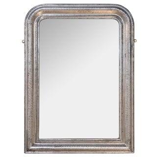 19th Century Silver Gilt Louis Phillip Mirror For Sale