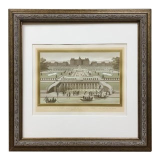 1882 Framed Print / Chromolithograph by Firmin Didot, Paris For Sale