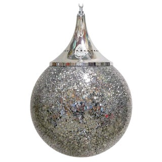 Crackled Mirror Glass Pendants by Fabio Ltd (4 Available) For Sale