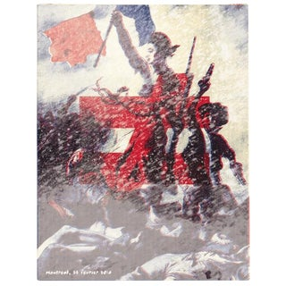 2014 Contemporary Music Poster - Fauve, Liberty Leading the People For Sale