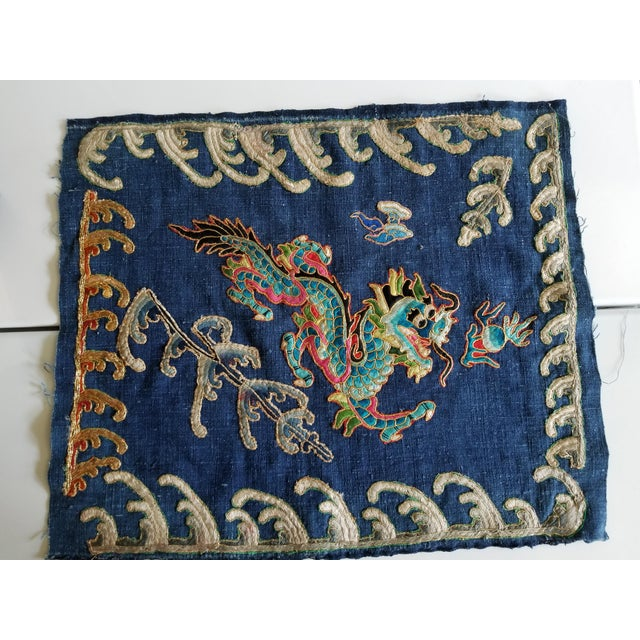 Art Deco Chinese Opera Robe Pillow Fragment For Sale In Los Angeles - Image 6 of 6