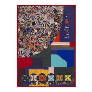 Mosaic Freak Multicolor Throw For Sale