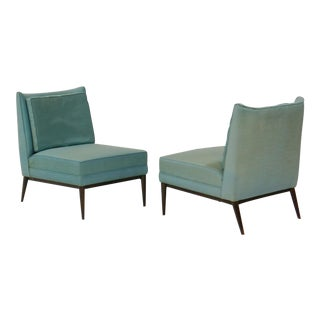 Pair of Slipper Lounge Chairs by Paul Mccobb for Calvin For Sale