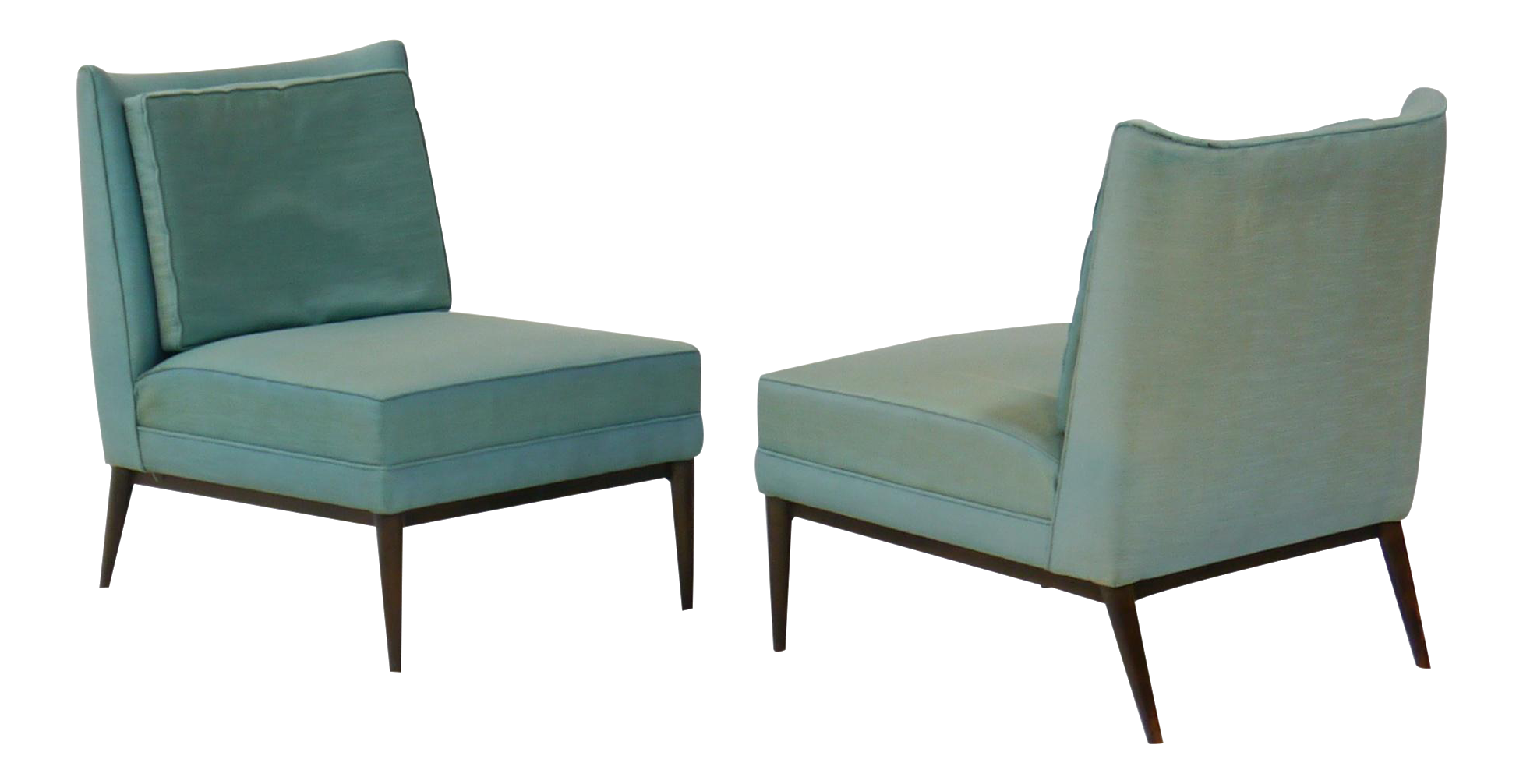 Pair Of Slipper Lounge Chairs By Paul Mccobb For Calvin   Image 1 Of 9