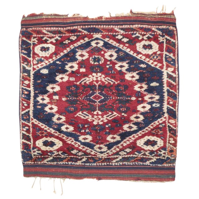 Antique Bergama Rug For Sale