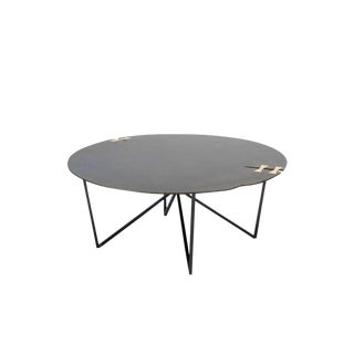 Steel Forest Circle Coffee Table For Sale